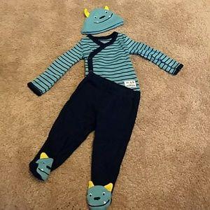 3 piece newborn outfit